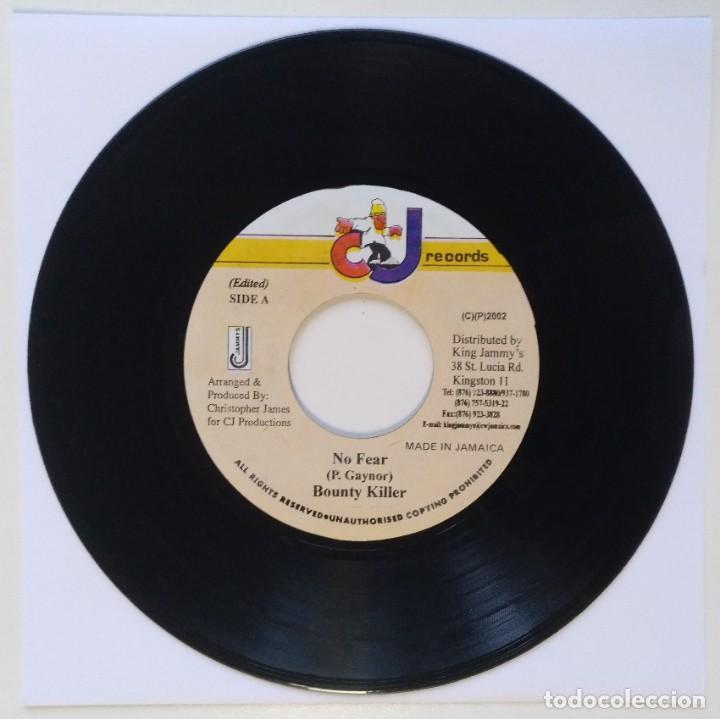 "Discos de vinilo: BOUNTY KILLER - NO FEAR [REGGAE / DANCEHALL ORIGINAL VINYL] 7"" 45RPM [2002] - Foto 2 - 212115975"