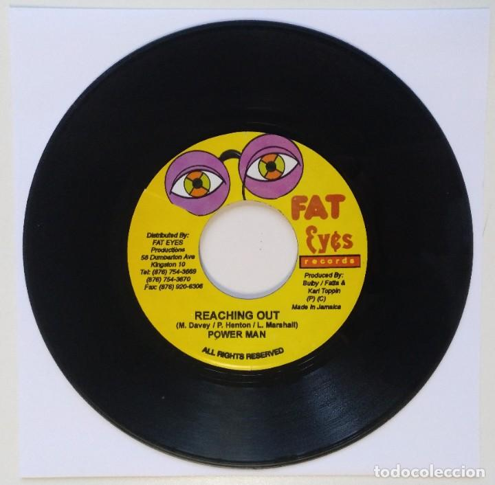 "Discos de vinilo: GENERAL DEGREE - COME LOOK TROUBLE / POWER MAN [REGGAE / DANCEHALL ORIGINAL VINYL] 7"" 45RPM [2002] - Foto 2 - 212116658"