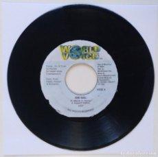 "Discos de vinilo: A.R.P. - DIS GAL / FOTTA FLEX - BAD BOYS (HOTTA FLEX) [REGGAE / DANCEHALL ORIGINAL] 7"" 45RPM [1999]. Lote 212117460"