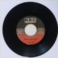 "Discos de vinilo: MR. LEX - COOL HER SELF / MICHAEL KNIGHT - FEELIN THE [REGGAE / DANCEHALL ORIGINAL] 7"" 45RPM [2002]. Lote 212118163"
