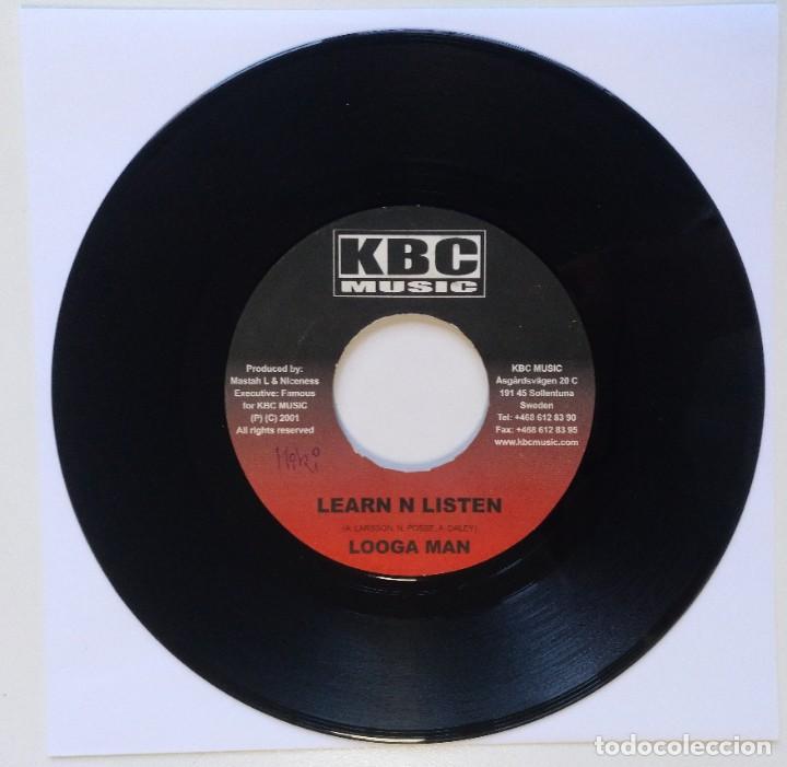 "LOOGA MAN - LEARN N LISTEN / GOOFY - WHO YOU BE?? [REGGAE / DANCEHALL ORIGINAL] 7"" 45RPM [2002] (Música - Discos - Singles Vinilo - Reggae - Ska)"