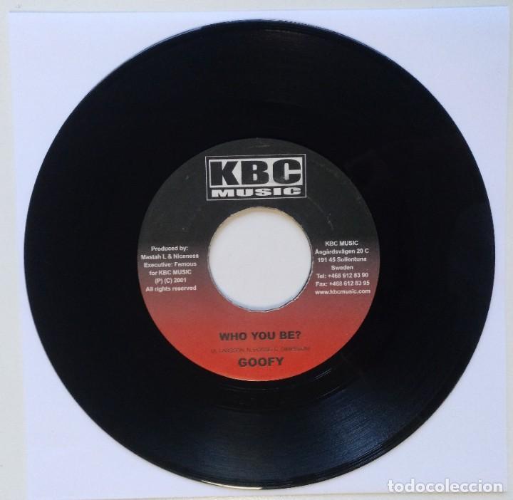 "Discos de vinilo: LOOGA MAN - LEARN N LISTEN / GOOFY - WHO YOU BE?? [REGGAE / DANCEHALL ORIGINAL] 7"" 45RPM [2002] - Foto 2 - 212119128"