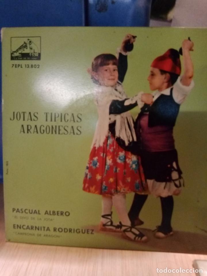 NOTAS TÍPICAS ARAGONESAS DISCO DE 4 CANCIONES (Música - Discos de Vinilo - EPs - Étnicas y Músicas del Mundo)