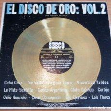 Discos de vinilo: EL DISCO DE ORO: VOL. 2 - THE FINEST IN LATIN-AMERICAN RECORDINGS - LP - SEECO RECORDS, INC.. Lote 212125773