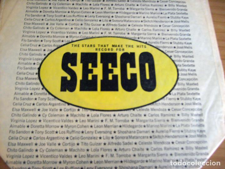 Discos de vinilo: EL DISCO DE ORO: VOL. 2 - THE FINEST IN LATIN-AMERICAN RECORDINGS - LP - SEECO RECORDS, INC. - Foto 3 - 212125773