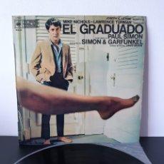 Dischi in vinile: BANDA SONORA ORIGINAL. EL GRADUADO. PAUL SIMON Y GRANFUNKEL. CBS. ESPAÑA. Lote 212150157