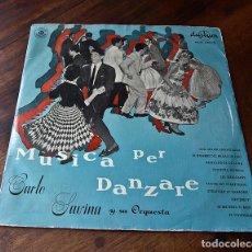Discos de vinilo: MUSICA PER DANZARE. Lote 212155501