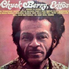 Disques de vinyle: CHUCK BERRY EXITOS - SPAIN LP 1972 - COMO NUEVO.. Lote 212160193