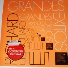 Disques de vinyle: LITTLE RICHARD- GRANDES EXITOS - SPAIN LP 1985 - COMO NUEVO.. Lote 212163782