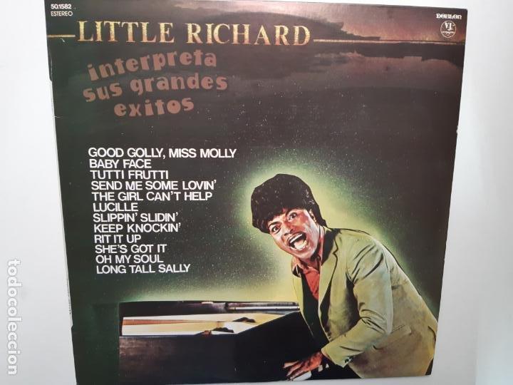 LITTLE RICHARD- INTERPRETA SUS GRANDES EXITOS - SPAIN LP 1981 - COMO NUEVO. (Música - Discos - LP Vinilo - Rock & Roll)