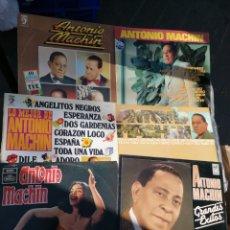 Discos de vinilo: LOTE 6 DISCOS ANTONIO MACHIN. Lote 212183880
