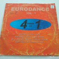 Discos de vinilo: EURODANCE VOL. 1. Lote 212200377