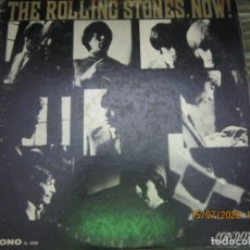 Discos de vinilo: THE ROLLING STONES - NOW LP - ORIGINAL U.S.A. - LONDON RECORDS 1964 - BOXED MONOAURAL. Lote 212208210