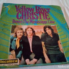Discos de vinilo: 23-SINGLE CHRISTIE YELLOW RIVER, 1970. Lote 212222046
