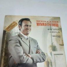Discos de vinilo: DISCO DE VINILO DE MANOLO ESCOBAR,AÑO 1971. Lote 212222391