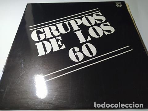 LP - VARIOUS ?– GRUPOS DE LOS 60 - 845 176-1 (VG+ / VG+) SPAIN 1990 (Música - Discos - LP Vinilo - Grupos Españoles 50 y 60)