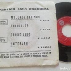 Discos de vinilo: TITO MOYA - SUTERLAND +3 - EP YOGA 1976 // PRIVADO JAZZ LIBRARY. Lote 212257038