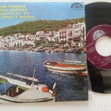Discos de vinilo: DANY FERBO Y SU COMBO DE CUBA - ARAGON CUBANO + 3 - EP PENTAGONO 1972 // COMO NUEVO //. Lote 212257973