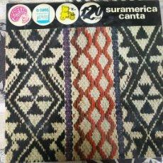 Discos de vinilo: SURAMERICA CANTA- LOS MONTENEGRO + CRISTOBAL + EL DUENDE + MARECOS + PERUCHO ETC.. LP 1972 SPAIN. Lote 212265407