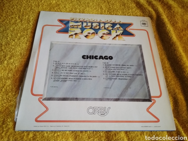 Discos de vinilo: 01-LP Disco Vinilo . Chicago. Rock. - Foto 2 - 212265480