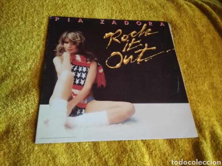 02- LP. PIA ZADORA. ROCK. DISCO VINILO. (Música - Discos - LP Vinilo - Pop - Rock - New Wave Internacional de los 80)