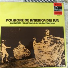 Discos de vinilo: FOLKLORE DE AMÉRICA DEL SUR - BALLET GRANCOLOMBIANO - COLOMBIA, VENEZUELA, ECUADOR, BOLIVIA - LP. Lote 212265743