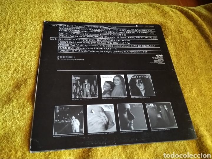 Discos de vinilo: 03-LP . Disco Vinilo. Wea. Varios artistas. Philp Collins, Rod Stewart...(Con saltos en 2 canciones) - Foto 2 - 212265855
