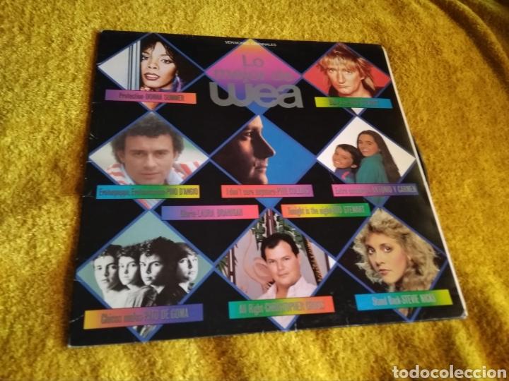03-LP . DISCO VINILO. WEA. VARIOS ARTISTAS. PHILP COLLINS, ROD STEWART...(CON SALTOS EN 2 CANCIONES) (Música - Discos - LP Vinilo - Pop - Rock - New Wave Internacional de los 80)