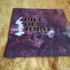 Discos de vinilo: 21-LP DISCO VINILO. PIEL DE TORO. LOS RELÁMPAGOS.. Lote 212273002