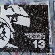Discos de vinilo: MARCUS WORGULL FEAT. MR. WHITE* SPELLBOUND EP. Lote 212286346