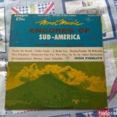 "Discos de vinilo: KURT MAIER ?– MOOD MUSIC - ENCORES OF SUD-AMERICA VINILO AMERICANO 10"", LATIN JAZZ. AÑO 1956.. Lote 212296375"