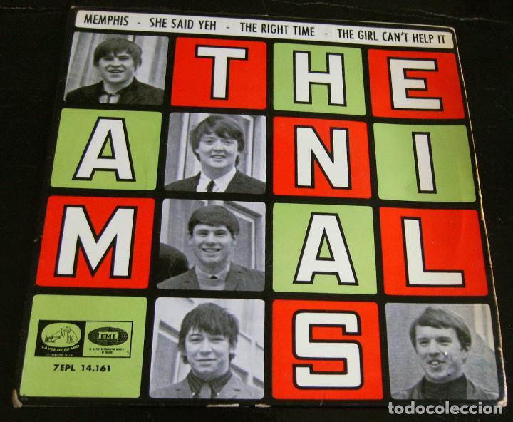 THE ANIMALS - MEMPHIS - E.P. - AÑO 1965 - LA VOZ DE SU AMO - EMI (Música - Discos - Singles Vinilo - Pop - Rock Internacional de los 50 y 60)