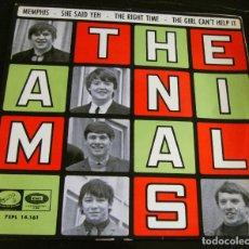 Discos de vinilo: THE ANIMALS - MEMPHIS - E.P. - AÑO 1965 - LA VOZ DE SU AMO - EMI. Lote 212299747