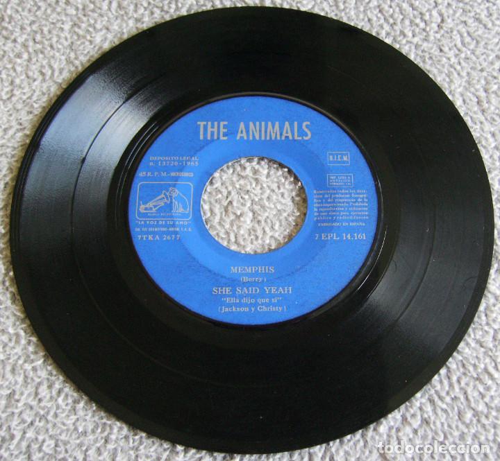 Discos de vinilo: THE ANIMALS - MEMPHIS - E.P. - AÑO 1965 - LA VOZ DE SU AMO - EMI - Foto 2 - 212299747