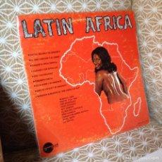 Disques de vinyle: LATIN AFRICA LP (RAFAEL SOLANO-JOHNNY VENTURA-FAJARDO Y SUS ESTRELLAS-CONJUNTO CRISTAL.....) LP 1975. Lote 212300075