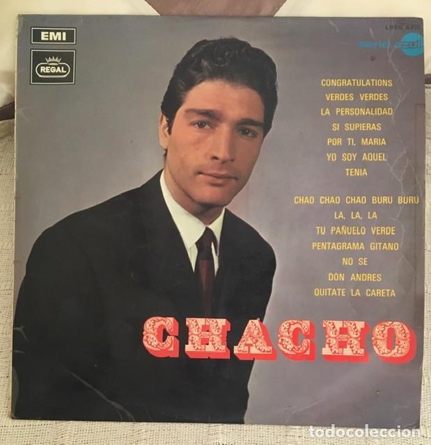 CHACHO - LP 1968 (Música - Discos - LP Vinilo - Flamenco, Canción española y Cuplé)