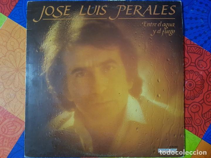 JOSÉ LUIS PERALES CON ENTRE EL AGUA Y EL FUEGO. INCLUYE Y ¿CÓMO ES ÉL?. ORIGINAL DEL AÑO 1982 (Música - Discos - LP Vinilo - Solistas Españoles de los 70 a la actualidad)