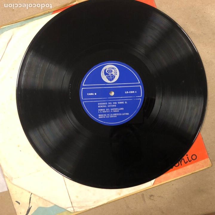 Discos de vinilo: - VINILO - DISCURSO DEL CHE GUEVARA SOBRE EL GENERAL ANTONIO. CDR. - Foto 2 - 212309090