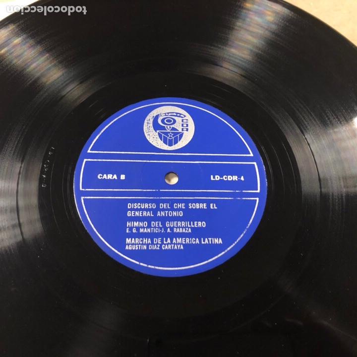 Discos de vinilo: - VINILO - DISCURSO DEL CHE GUEVARA SOBRE EL GENERAL ANTONIO. CDR. - Foto 3 - 212309090