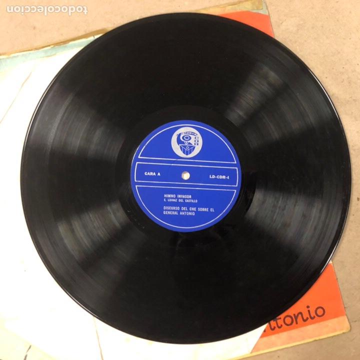 Discos de vinilo: - VINILO - DISCURSO DEL CHE GUEVARA SOBRE EL GENERAL ANTONIO. CDR. - Foto 4 - 212309090