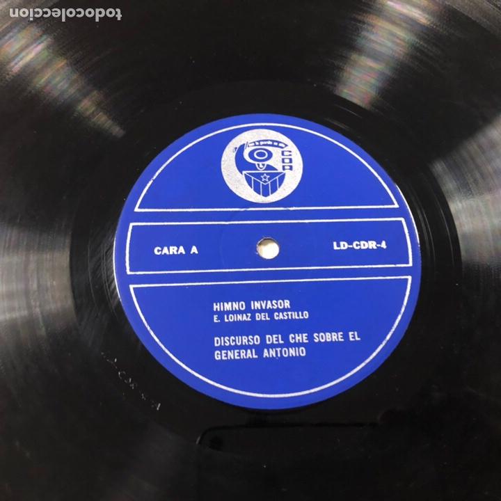 Discos de vinilo: - VINILO - DISCURSO DEL CHE GUEVARA SOBRE EL GENERAL ANTONIO. CDR. - Foto 5 - 212309090