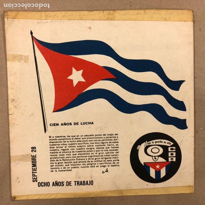 Discos de vinilo: - VINILO - DISCURSO DEL CHE GUEVARA SOBRE EL GENERAL ANTONIO. CDR. - Foto 6 - 212309090