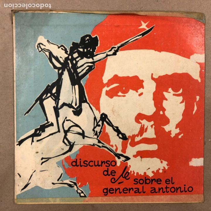 - VINILO - DISCURSO DEL CHE GUEVARA SOBRE EL GENERAL ANTONIO. CDR. (Música - Discos - LP Vinilo - Grupos y Solistas de latinoamérica)