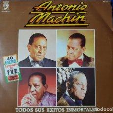 Discos de vinilo: 40 ÉXITOS DEL GRAN ANTONIO MACHÍN EN DOBLE DISCO DE VINILO. DOS DISCOS. Lote 212309873