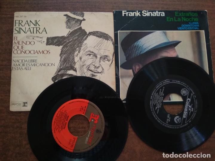 Discos de vinilo: FRANK SINATRA - 2 DISCOS SINGLES - Foto 2 - 212314373