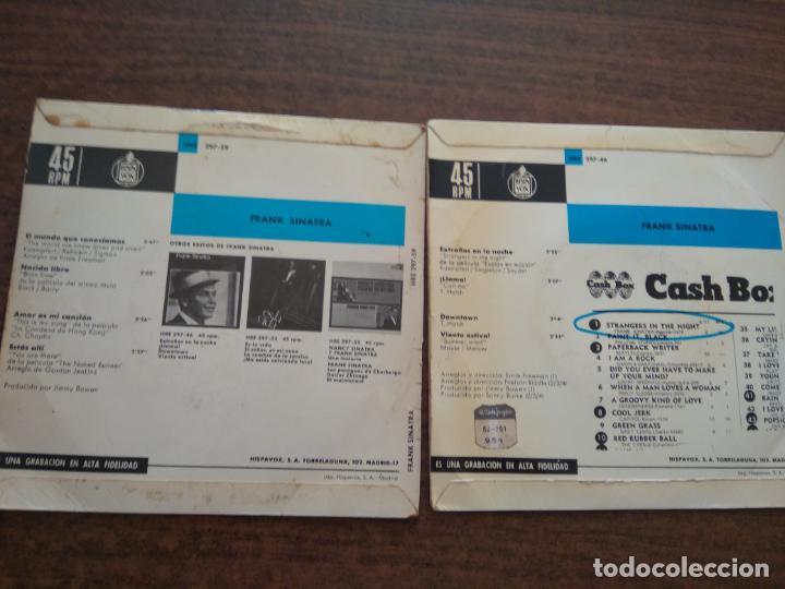 Discos de vinilo: FRANK SINATRA - 2 DISCOS SINGLES - Foto 3 - 212314373