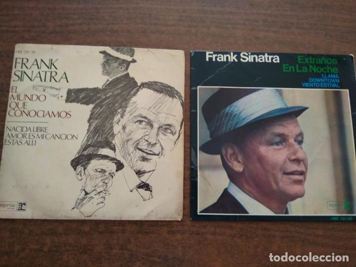 FRANK SINATRA - 2 DISCOS SINGLES (Música - Discos - Singles Vinilo - Cantautores Extranjeros)