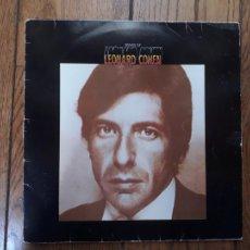 Disques de vinyle: LEONARD COHEN - SONGS OF LEONARD COHEN. Lote 212316131