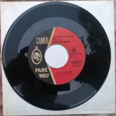 Discos de vinilo: CHUBBY CHECKER & DEE DEE SHARP. DO YOU LOVE ME/ ONE MORE TIME. CAMEO PARKWAY, HOLLAND 1963 SINGLE. Lote 212316950