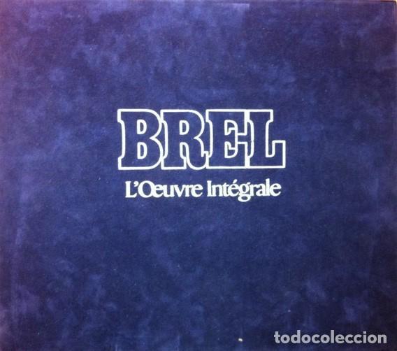 JACQUES BREL ?– LŒUVRE INTÉGRALE - 10 × VINYL, LP, COMPILATION 4 × VINYL, LP, ALBUM PAÍS: (Música - Discos - LP Vinilo - Canción Francesa e Italiana)